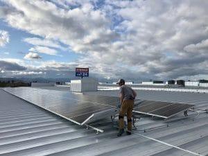 Commercial Solar Panel Installation -2