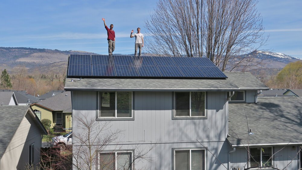 Solar Panel In Oregon