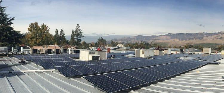 Commercial Solar Panel Installation -7