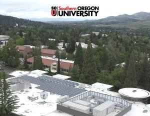 Solar Panel Installed In Southern Oregon University