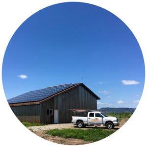 Residential Solar Installation - 3