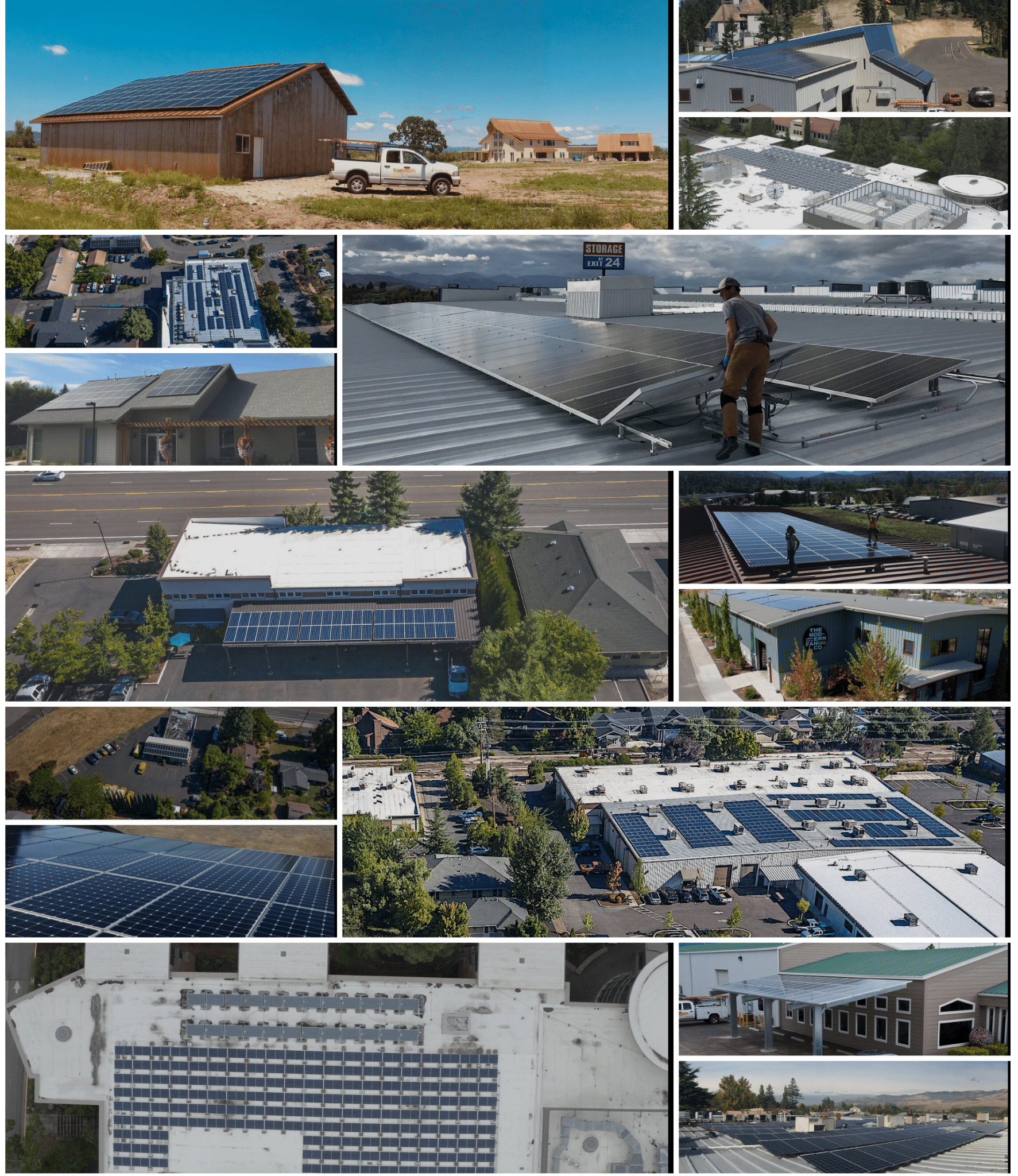 Commercial Solar Panel Service